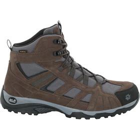 Jack Wolfskin Vojo Hike Mid Texapore Chaussures Homme, dark wood